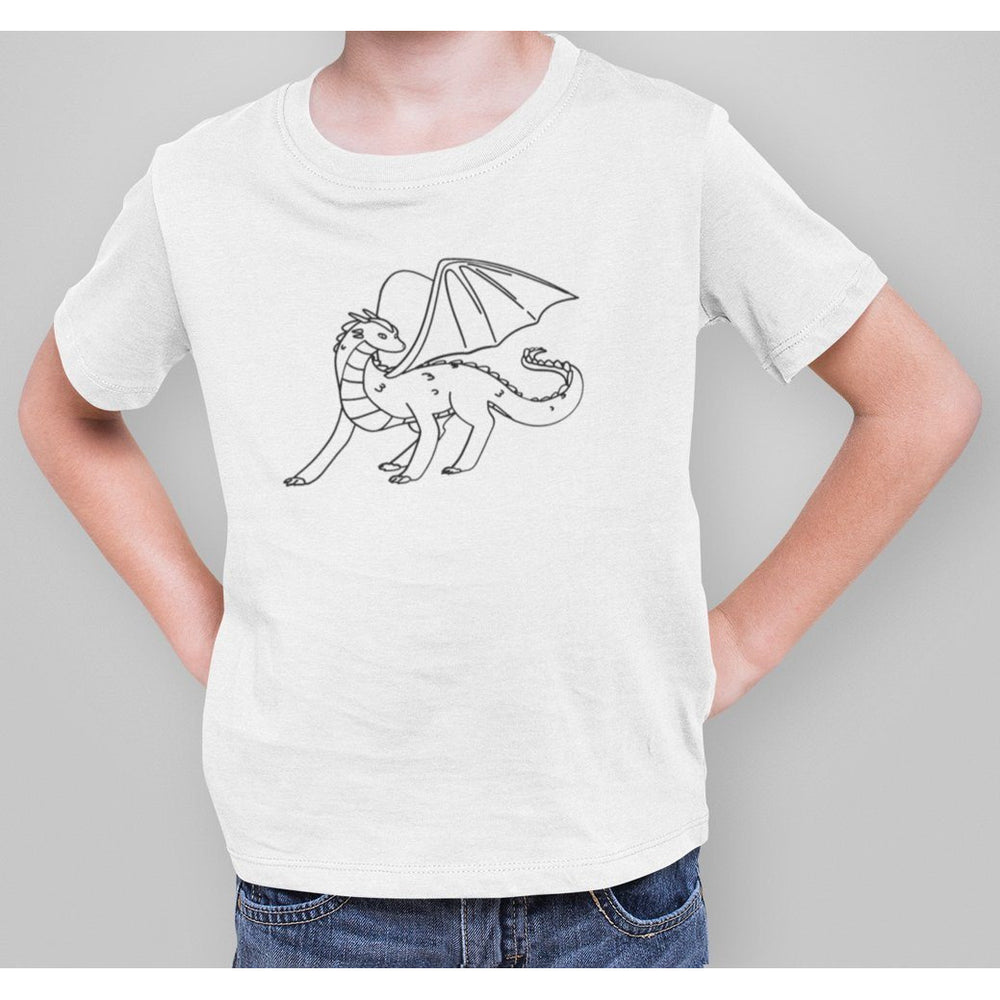 Dragon Color Your Own Kids T-Shirt