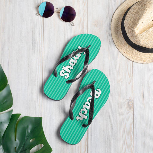 Shady Beach Flip Flops - FREE Shipping