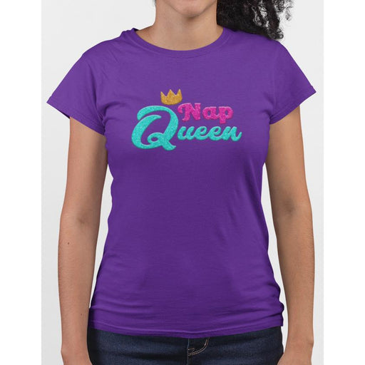 Nap Queen Ladie's T-Shirt
