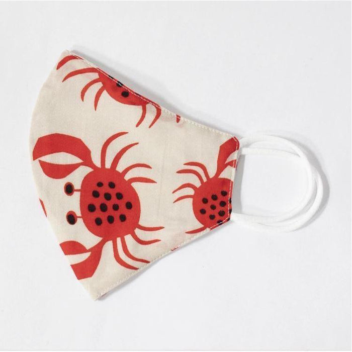 Adult Unisex Crab Face Mask w PM2.5 Filters