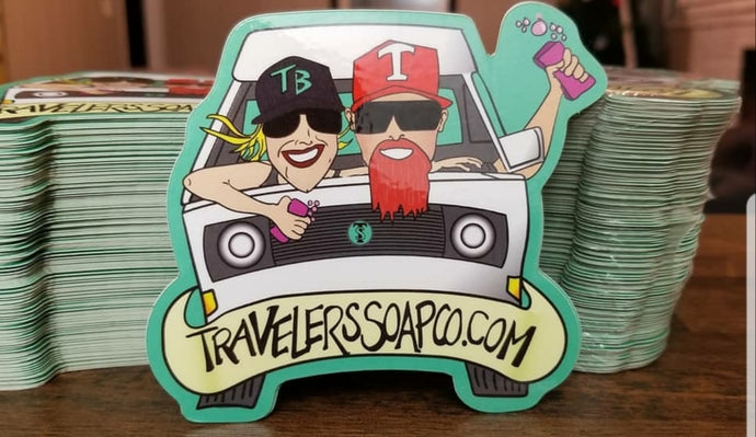 Traveler's Soap Co. Stickers