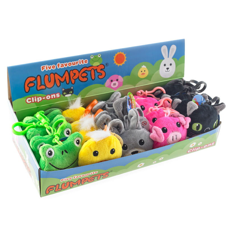 favourite flumpet clip ons ion display box