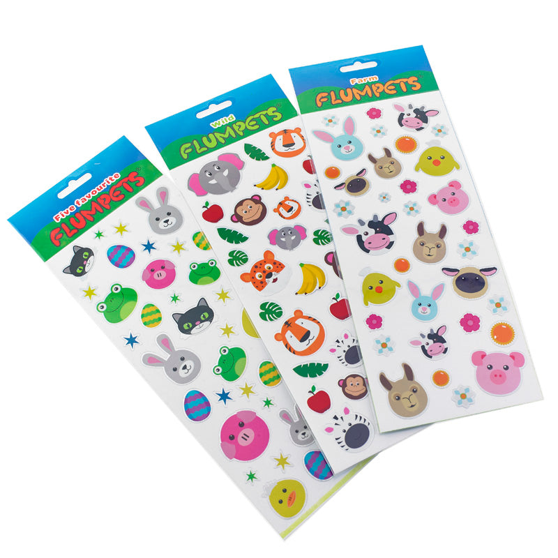 Flumpets Sticker Sheets