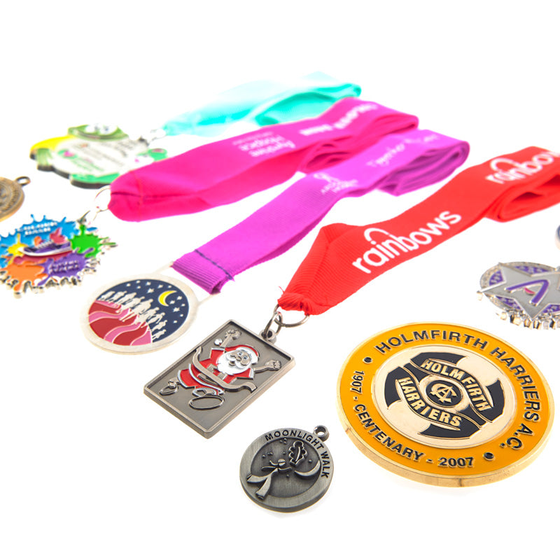 bespoke branded medals for fundraising
