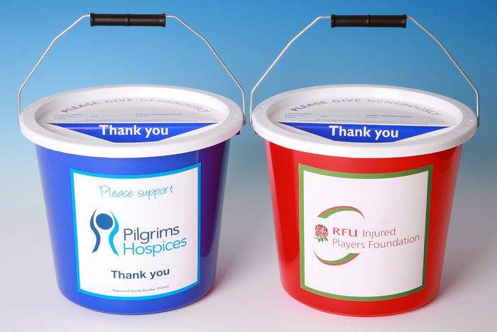 (Charity Only) Collection Bucket Printed Labels