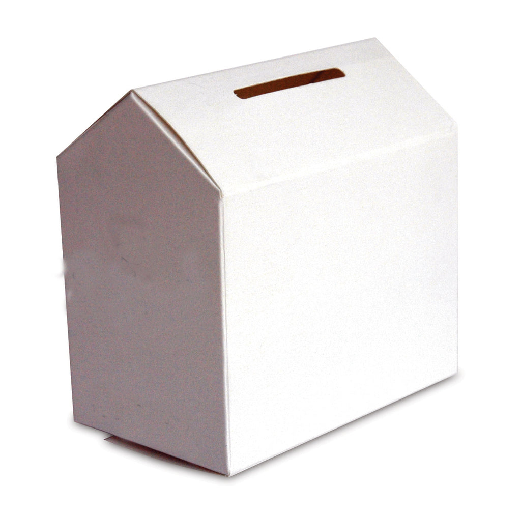 Unprinted House/Kennel Shaped Collection Box