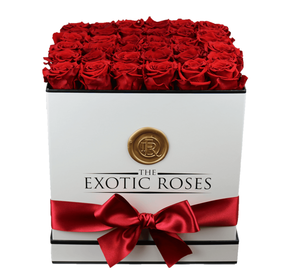 Large Square - Eternity Roses - The Exotic Roses