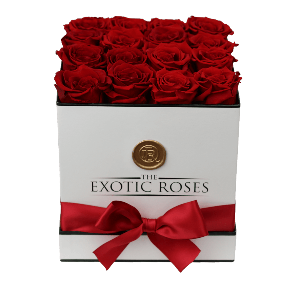 Medium Square - Eternity Roses - The Exotic Roses