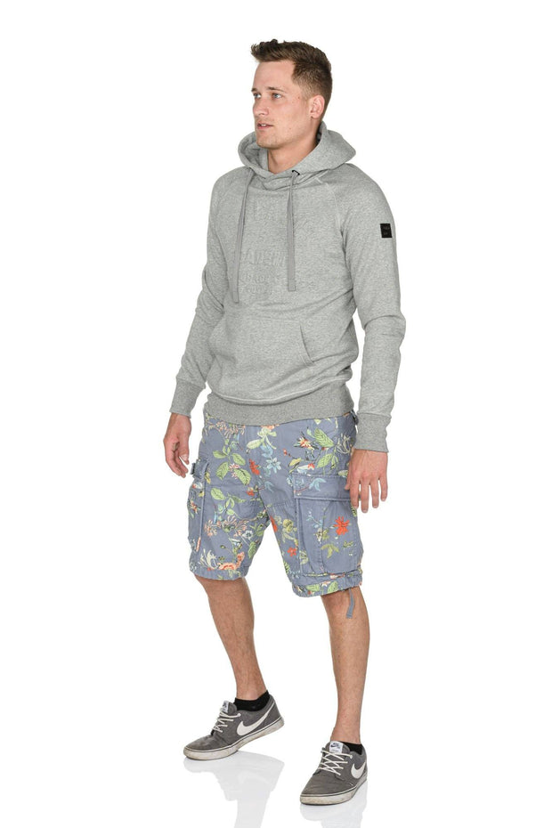 Short 17-131 Blue Flower Shorts Jet Lag