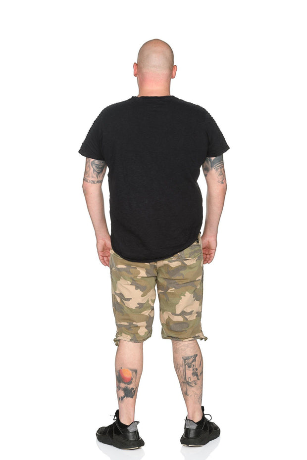Short 20-635 Army Green Camouflage Shorts Jet Lag