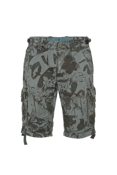 Short 20-647 Flower Blue Shorts Jet Lag