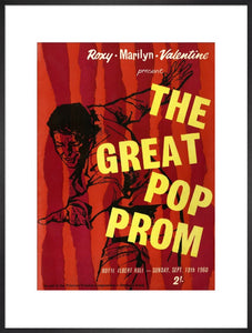 Programme for The Great Pop Prom in aid of The Printers' Pension Corporation-Orphans Fund, 18 September 1960 - Royal Albert Hall