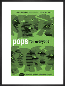 Programme for Pops for Everyone, 9 May 1963 - Royal Albert Hall