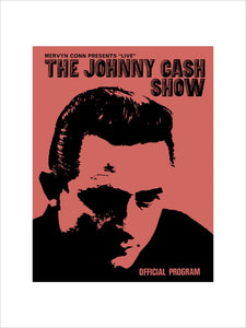 Programme for The Johnny Cash Country and Western Show, 9 May 1968