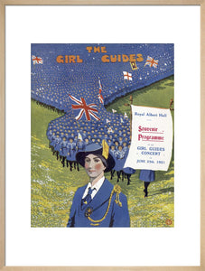 Programme for Grand Choral Concert by the Girl Guides, with a Choir of a Thousand Voices, 25 June 1921 - Royal Albert Hall