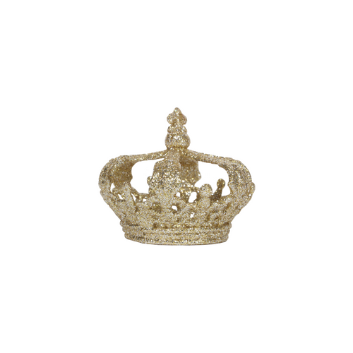 Gold Glitter Crown Decoration - Royal Albert Hall