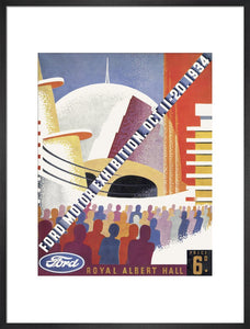 Ford Motor Exhibition Art Print - Royal Albert Hall