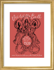 Programme for Vic-Wells Ball, 13 March 1939 - Royal Albert Hall
