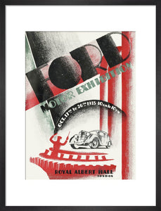 Programme for Ford Motor Exhibition 1935, 17-26 October 1935 - Royal Albert Hall