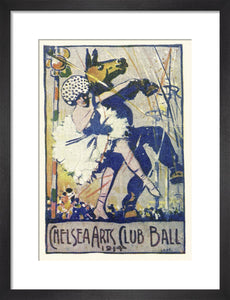 Programme for The Chelsea Arts Club Annual Ball - 'Old English', 4 March 1914