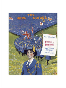 Grand Choral Concert by the Girl Guides - 1921