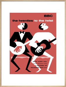 Programme for The Twenties To The Twist - Forty Years of Popular Music, 15 November 1962 - Royal Albert Hall