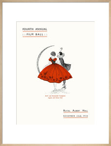 Programme for Fourth Annual Film Ball, 22 November 1933 - Royal Albert Hall