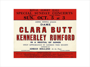 Dame Clara Butt and Kennerley Rumford - 1930