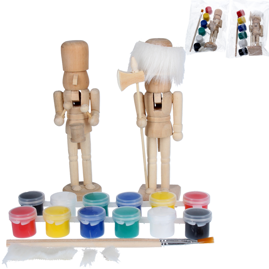 Assorted Paint Your Own Nutcracker