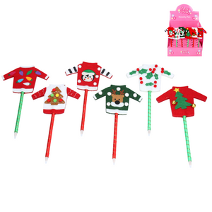 Assorted Felt Christmas Jumper Pen - Royal Albert Hall