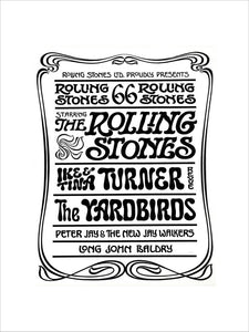 Programme for The Rolling Stones, 23 September 1966 - Royal Albert Hall