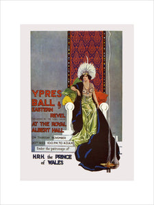Programme from The Ypres Ball and Eastern Revel, in aid of The Funds of the Ypres League and British Legion, 30 November 1922 - Royal Albert Hall