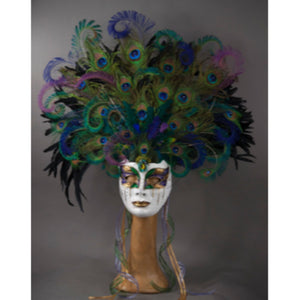 Cirque Du Soleil Peacock Goddess Mask - Royal Albert Hall