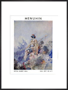 Programme for Yehudi Menuhin Concert, 28 October 1934 - Royal Albert Hall