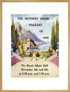 Mothers' Union Pageant - 1936