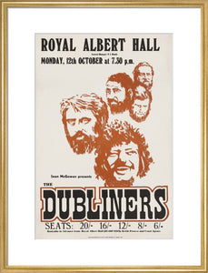 The Dubliners, 12 October 1970 - Royal Albert Hall