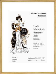 Lady Malcolm's Servants' Ball - 1937