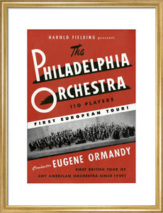Handbill for Philadelphia Orchestra Concert, 27 May - 10 June 1949 - Royal Albert Hall