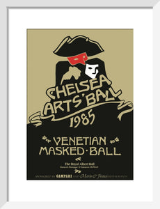 Programme for The Chelsea Arts Club Ball 1985 - Venetian Masked Ball, 11 October 1985 - Royal Albert Hall