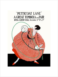 Programme for Petticoat Lane - A Great Tombola and Fair, 3-5 December 1917 - Royal Albert Hall