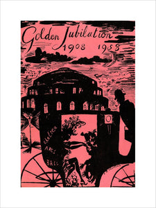 Programme for The Chelsea Arts Club Annual Ball - 'Golden Jubilation' (1908-1958), 31 December 1958 - Royal Albert Hall