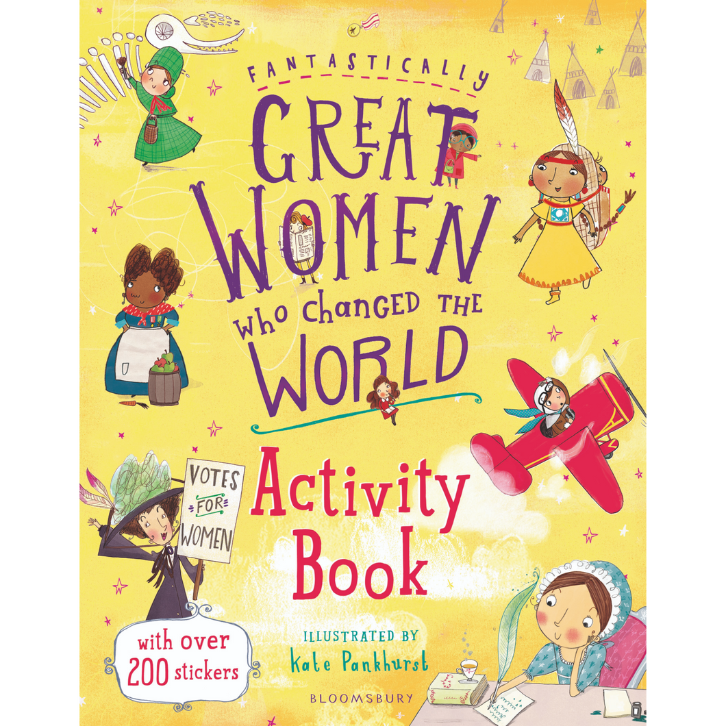 Great Women Activity Book