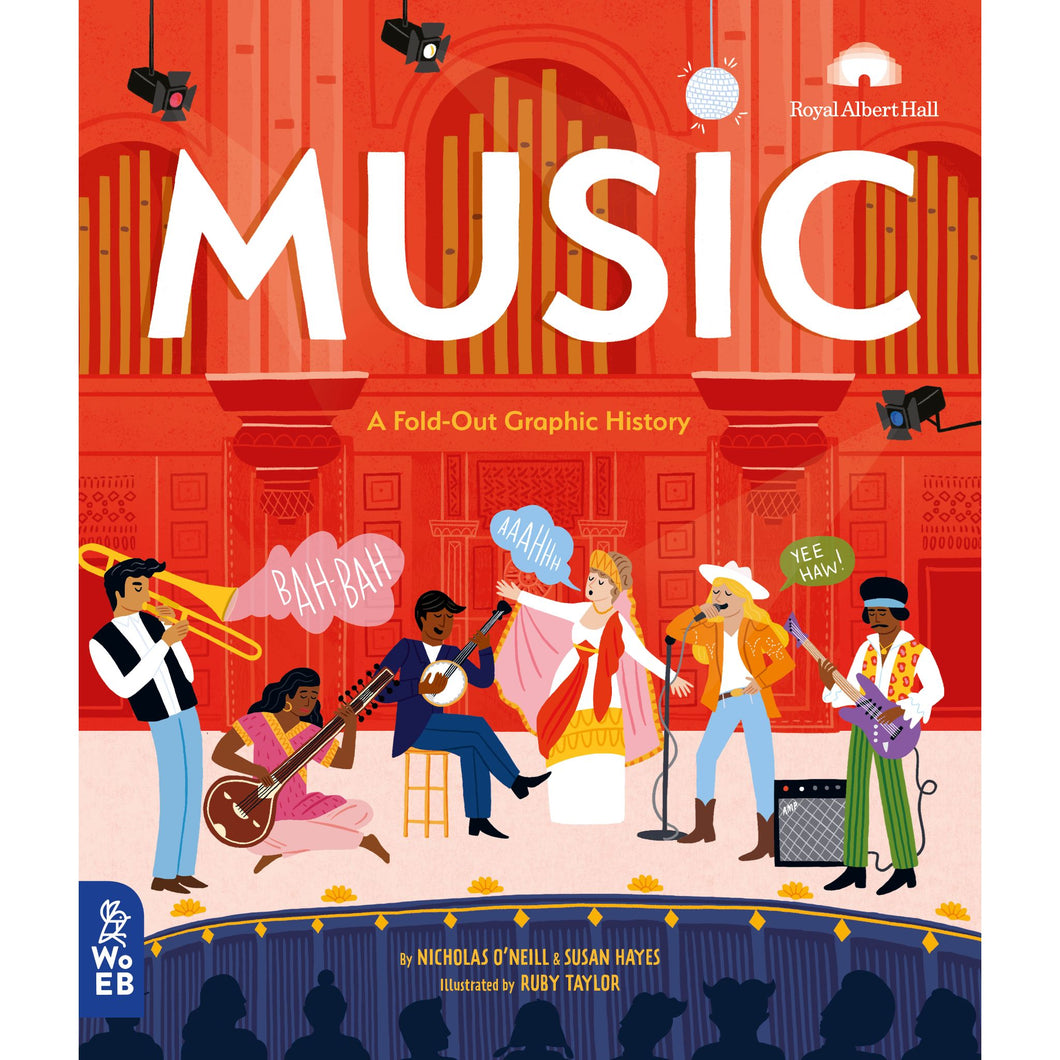 Music: A Fold-Out Graphic History - Royal Albert Hall