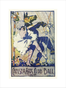 Programme for The Chelsea Arts Club Annual Ball - 'Old English', 4 March 1914 - Royal Albert Hall