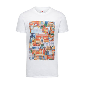 Albertopolis Block Print T-Shirt - Royal Albert Hall