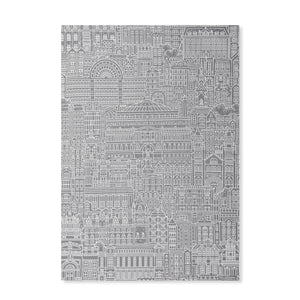 Albertopolis Line Tea Towel - Royal Albert Hall