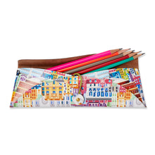 Load image into Gallery viewer, Albertopolis Leather Pencil Case - Royal Albert Hall