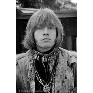 Jim Marshall  - Brian Jones at Monterey Pop Festival, 1967 - Royal Albert Hall