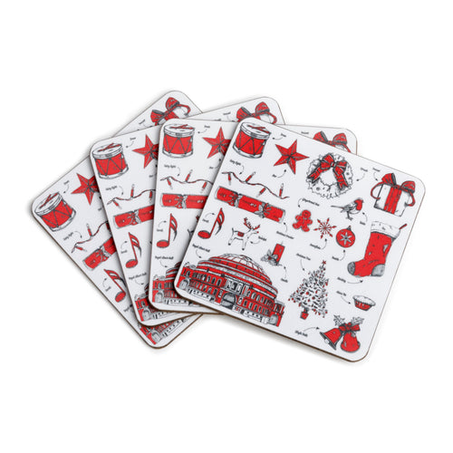 Christmas Coasters - Royal Albert Hall