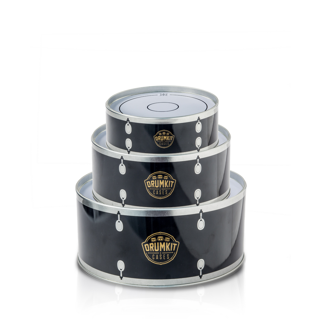 Drum Kit Tins (Set of 3)